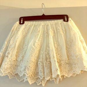 Sweet Zara Lace Shorts Size xs
